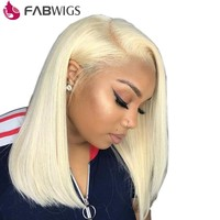 #613 Blonde Lace Front Human Hair Wig w/Baby Hair