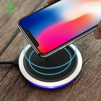 Qi Fast Wireless Charger For iPhone X Samsung