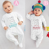 2016 High quality baby rompers spring and autunm boy clothes for newborn girl jumpsuit baby clothes newborn kids clothes