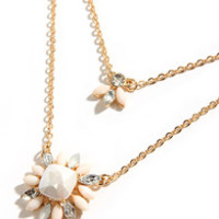 Cute Couple Gold Layered Necklace