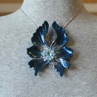 Winter Fantasy Fairy Wing Pendant