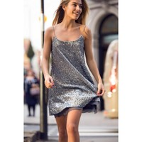 BABYMILK PEWTER SERENA DRESS HOT!MESS Fashion UK