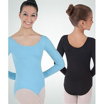 Body Wrappers Long Sleeve Leotard BWP026