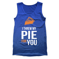 I THREW My PIE For You s m l xl xxl - funny hip tv show parody oitnb orange is the black lesbian love new - Mens Royal Blue Tank Top DB0023