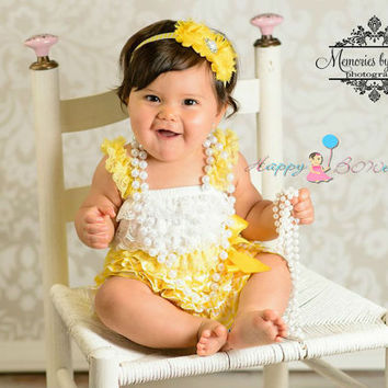 Sunny yellow Chevron Petti Dress, ruffle dress, baby dress, girls dress, Birthday outfit, girls outfit, flower girl dress, Chevron dress