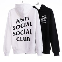 """Anti Social Social Club"" Cotton Fashion Hoodies"