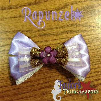 Rapunzel Inspired Bow