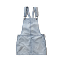 Denim Overall Jumper Dress