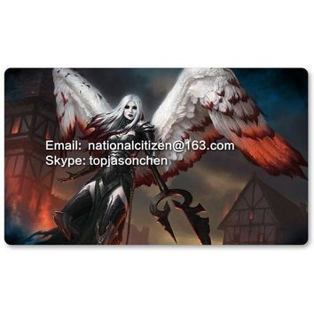 ONETOW Many Playmat Choices - Avacyn the Purifier - MTG Board Game Mat Table Mat for Magical Mouse Mat the Gathering 60 x 35CM
