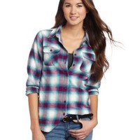 Amazon.com: U.S. Polo Assn. Women's Flannel Shirt: Clothing