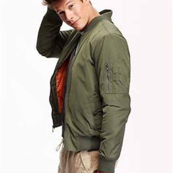 Men's Bomber Jacket from Old Navy