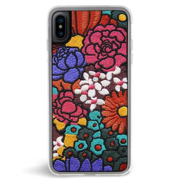 Woodstock Retro Embroidered iPhone X Case