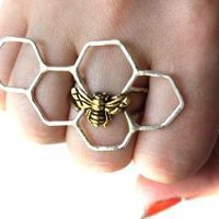 Sterling Silver Honey Knuckles II by luckyduct on Etsy