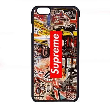 Jean Michel Basquiat art supreme FOR IPHONE 6 CASE *NP*
