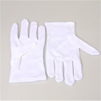 Flaming Burning Gloves Fire in Hands Magic Trick (White)