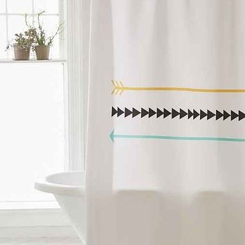 Allyson Johnson For DENY Arrow Shower Curtain