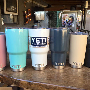 Powder Coated Yeti Rambler Tumblers, Cups, Colster, and Lowball