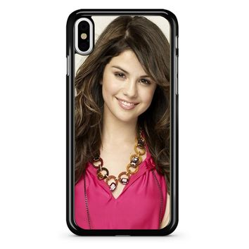 Selena Gomez 4 iPhone X Case