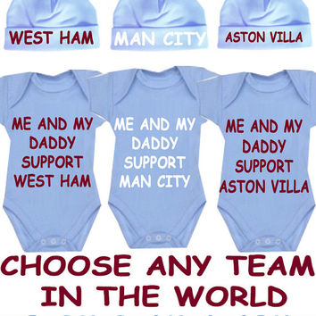 WEST HAM LIVERPOOL Arsenal  Football set  any slogan  any team in the world