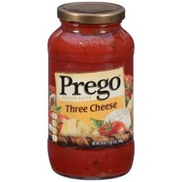 Prego Italian Sauce Three Cheese, 24.0 OZ - Walmart.com