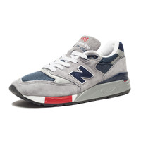 New Balance 998 - GREY/NAVY/RED | Undefeated