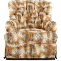 One Kings Lane - Michelle Nussbaumer - 19th-C. Leopard Club Chair