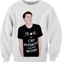 Danisnotonfire The Whiskers Come From Within Sweat Shirt
