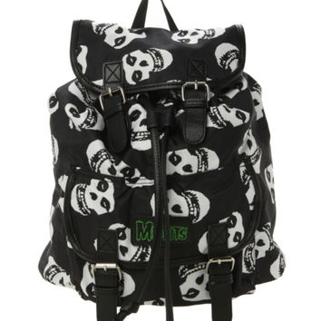 Misfits Fiend Skull Slouch Backpack