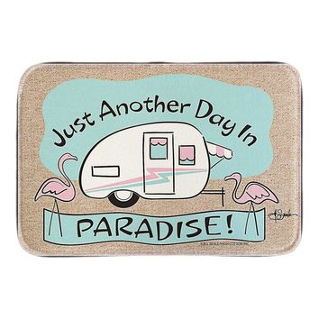 Just Another Day In Paradise! Welcome Doormat