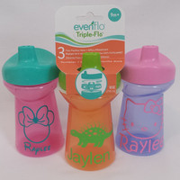 FREE SHIPPING! PERSONALIZED Sippy Cup 10oz