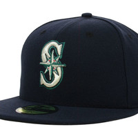 Seattle Mariners MLB Authentic Collection 59FIFTY Cap