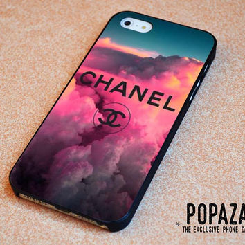 chanel logo art on cloud iPhone 5 | 5S Case Cover