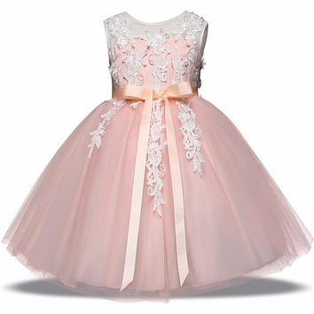 Kids Toddler Princess Dress for girls Outfits Children Festival Costume Formal Clothes Evening Wedding Party Gown Tutu Dress