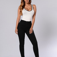 Spellbound Bodysuit - White