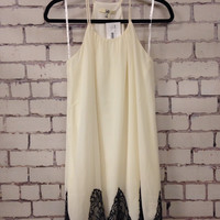 Carried Away Dress - Cream