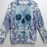 DIAMOND SKULL SWEATSHIRT – offthe5