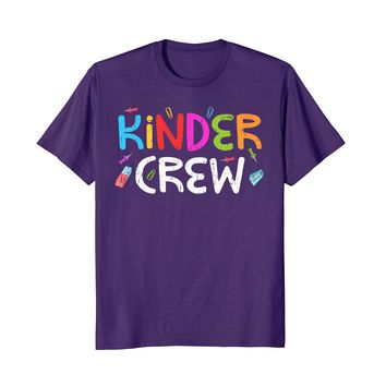 Kinder Crew T-Shirt Funny Back To School Teacher Gift