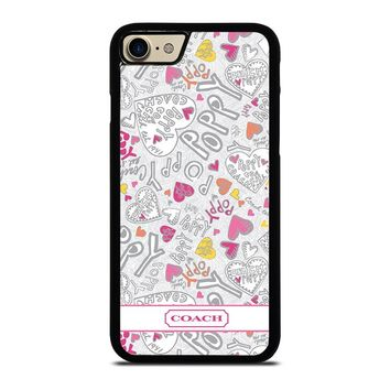 COACH POPPY COLOR Case for iPhone iPod Samsung Galaxy