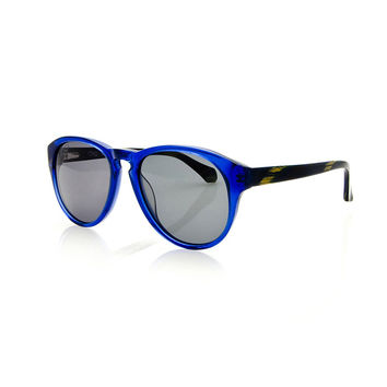 Oracle - Macaw,  Persol-inspired sunglasses, bright shades with a classic keyhole bridge.