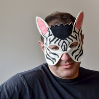 BHB KIDSTYLE Hand-made kids masks, tails and costumes for Halloween and Carnival. Children dress up accessories. Felt animal masks for adults.
