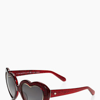 Kate Spade Tayla Sunglasses Red ONE
