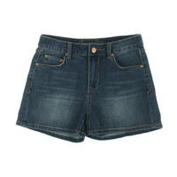 American Rag Womens Juniors Tracy Wash Whiskered Denim Shorts