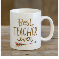 Natural Life Mug - Best Teacher