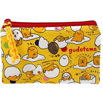 NEW! Zip Bag | Gudetama Bag | Inspired by Sanrio Zipper Pouch