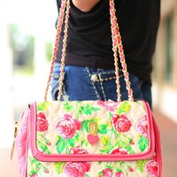 Be My Everything Floral Handbag by Betsey Johnson