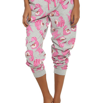 Disney Alice In Wonderland Cheshire Cat Girls Pajama Pants