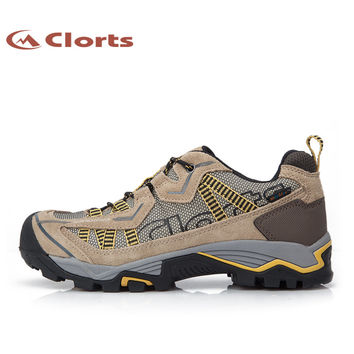Clorts Trekking Shoes Man Outdoor Climbing Shoes Waterproof Mountain Shoes