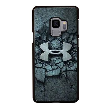 UNDER ARMOUR LOGO SMASH Samsung Galaxy S4 S5 S6 S7 S8 S9 Edge Plus Note 3 4 5 8 Case Cover