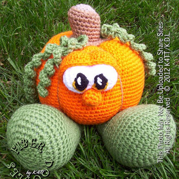 CROCHET PATTERN : Pulp the Pumpkin