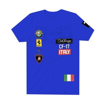 ONETOW Club Foreign Italy T-Shirt in Blue